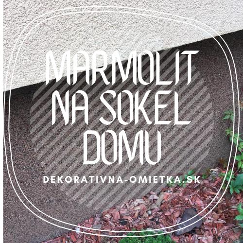 Marmolit na sokel domu