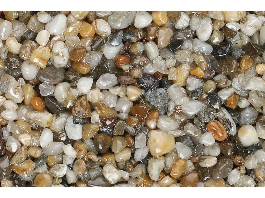 Kamenný koberec 26 kg - Labe (Zrnitost (veľkosť kamienkov) 4 - 7mm)