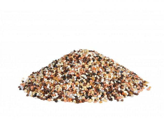Farebný marmolit - Navrhnite si svoju vlastnú farbu (Hmotnosť 25 Kg, Zrnitost Strednozrnný (1.5 - 2.0 mm))