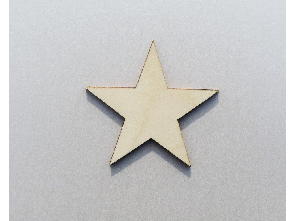 Hviezda 3 (Materiál Filc, Počet kusov 5 ks.)