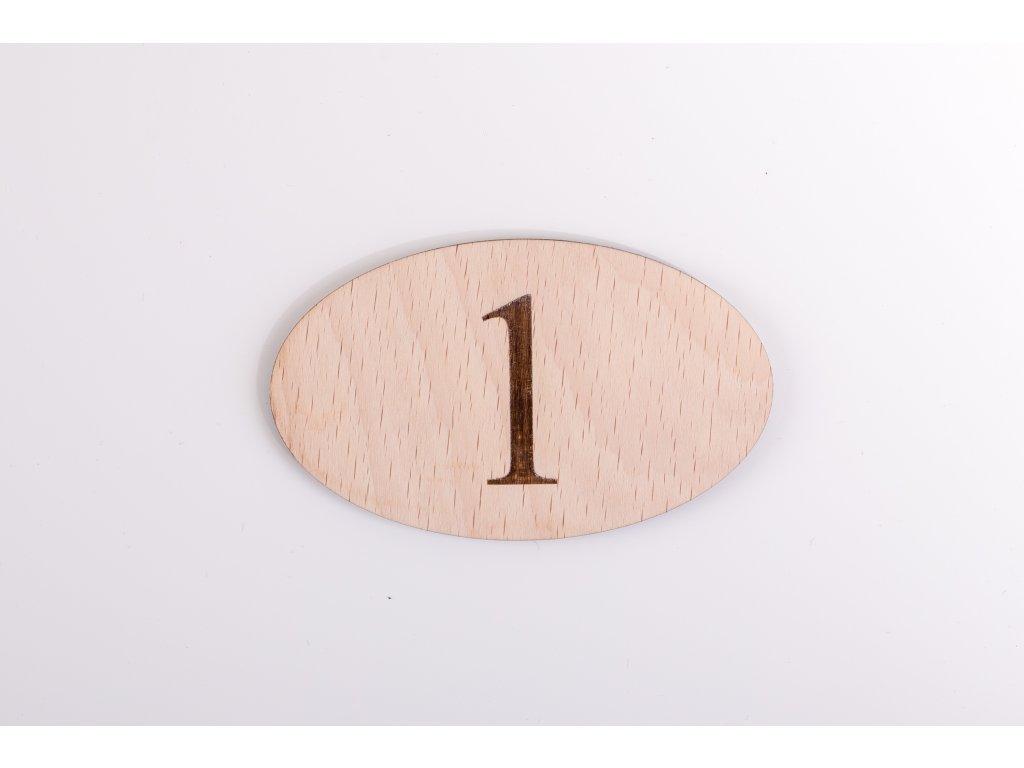 Číslo izby  #drevené čísla izbieb#