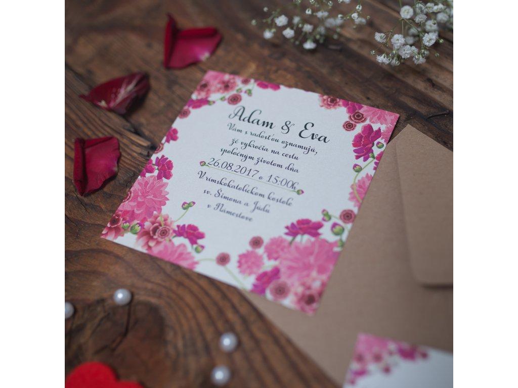 Svadobné oznámenie  #WEDDING3#