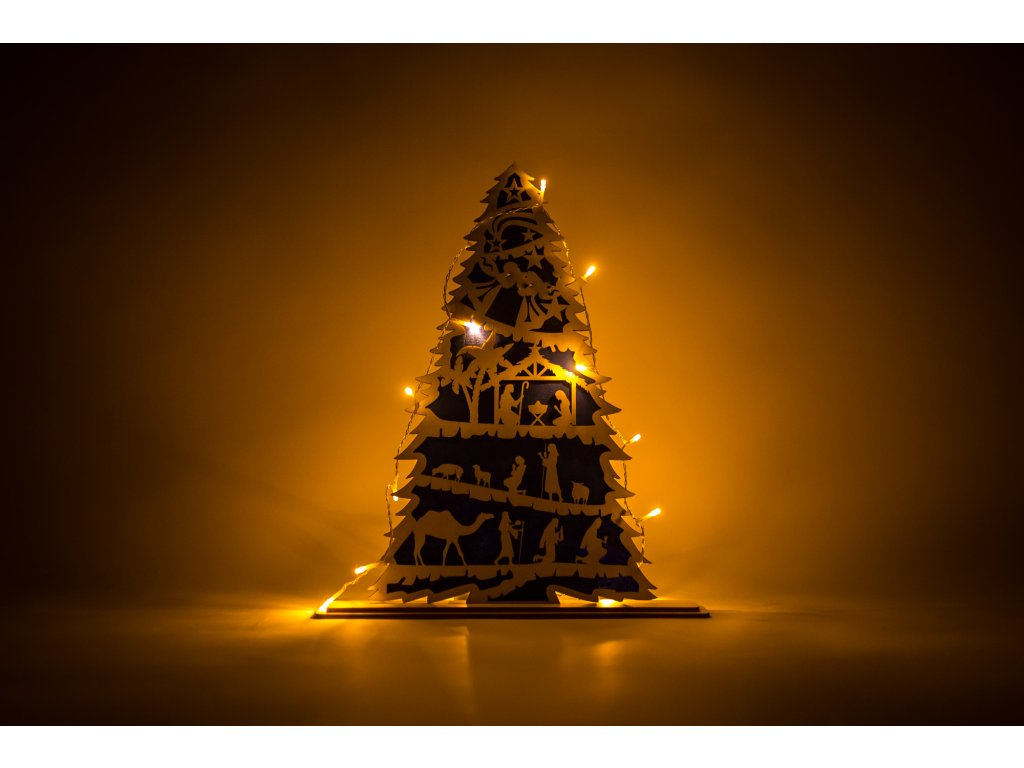 Vianočný Betlehem  #DREVENÝ FAREBNÝ BETLEHEM#