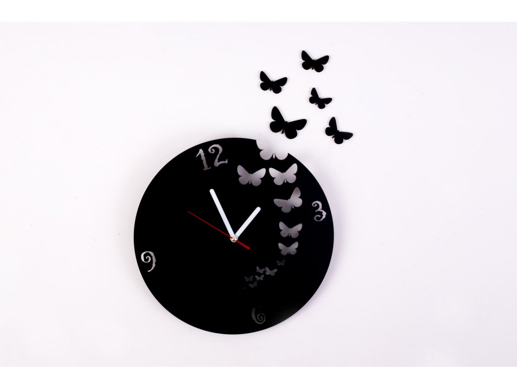 Nástenné hodiny - MOTÝĽ 1