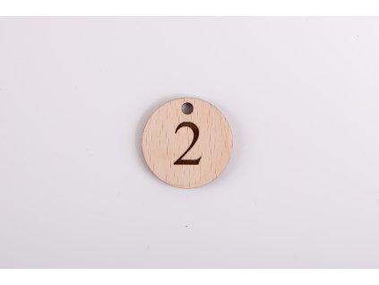 Číslo izby na kľúčenku  #drevené kľúčenky s čílom izby#