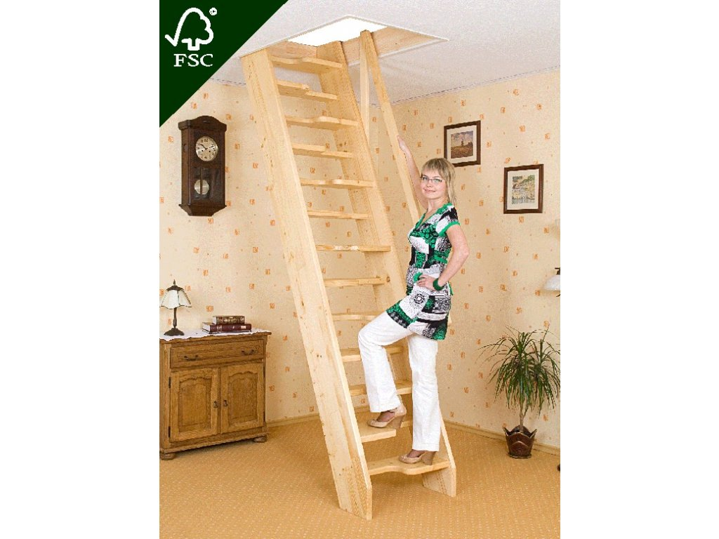 Mlynářské schody kachní - šířka 60 cm