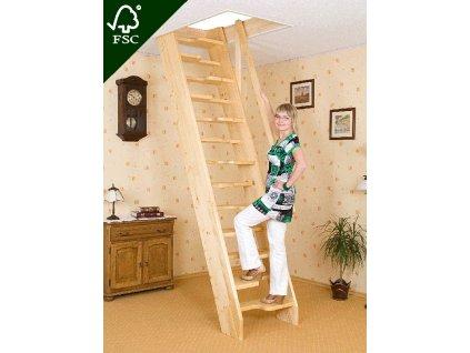 Mlynářské schody kachní - šířka 70 cm