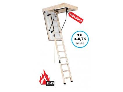 schody protipozarni EI45 1