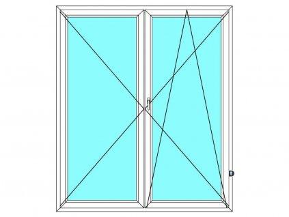 balkonove dvere dvoukridle