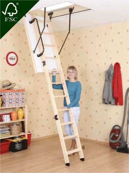 Skládací půdní schody Extra 110x60