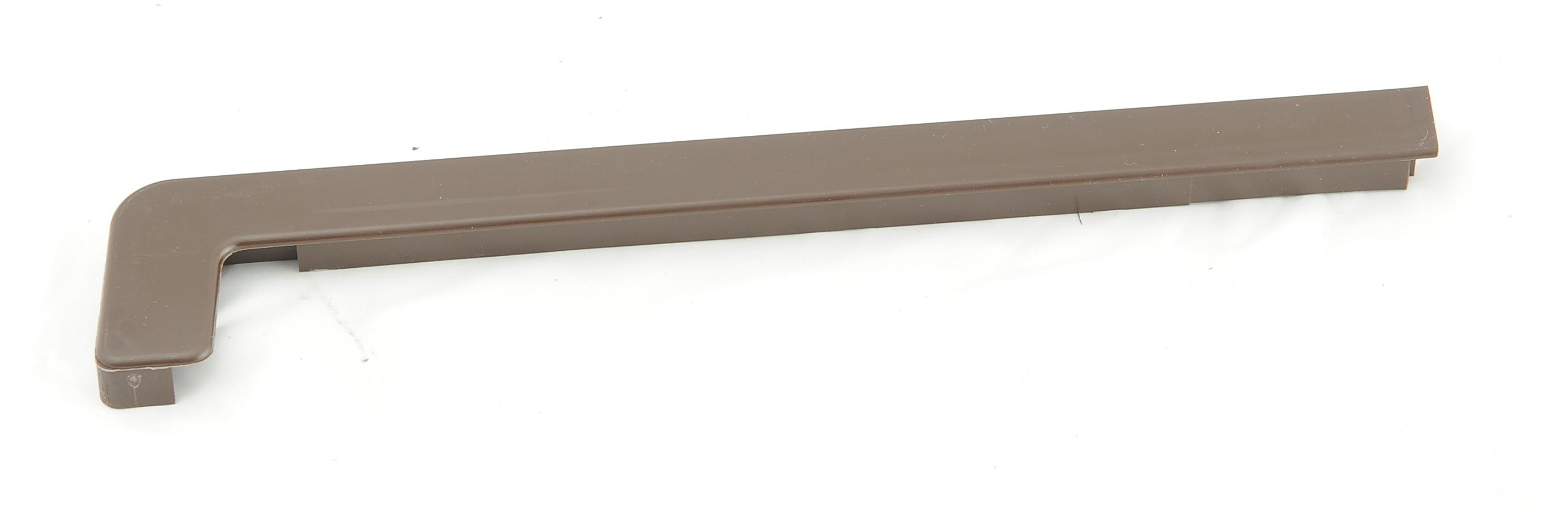 Plastová krytka k hliníkovým ohýbaným parapetům 380 až 400 mm