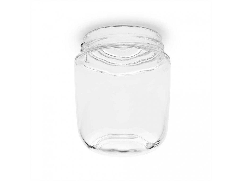 100114 Lisilux sklenena krytka čirá