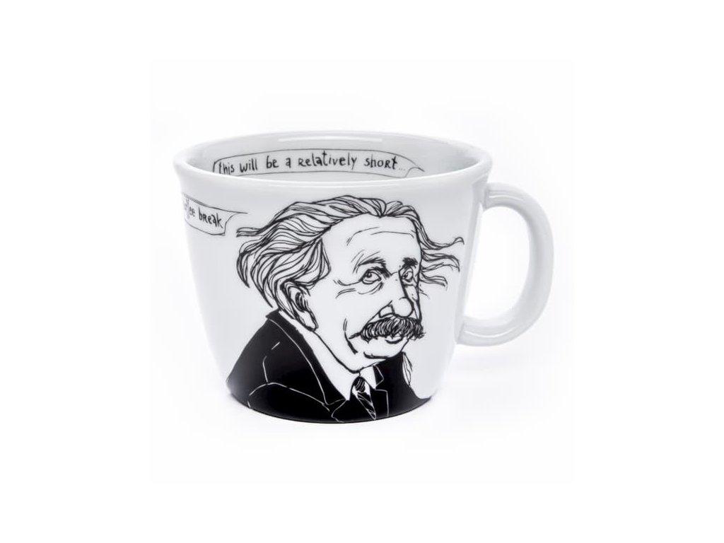 Albert Einstein hrnček