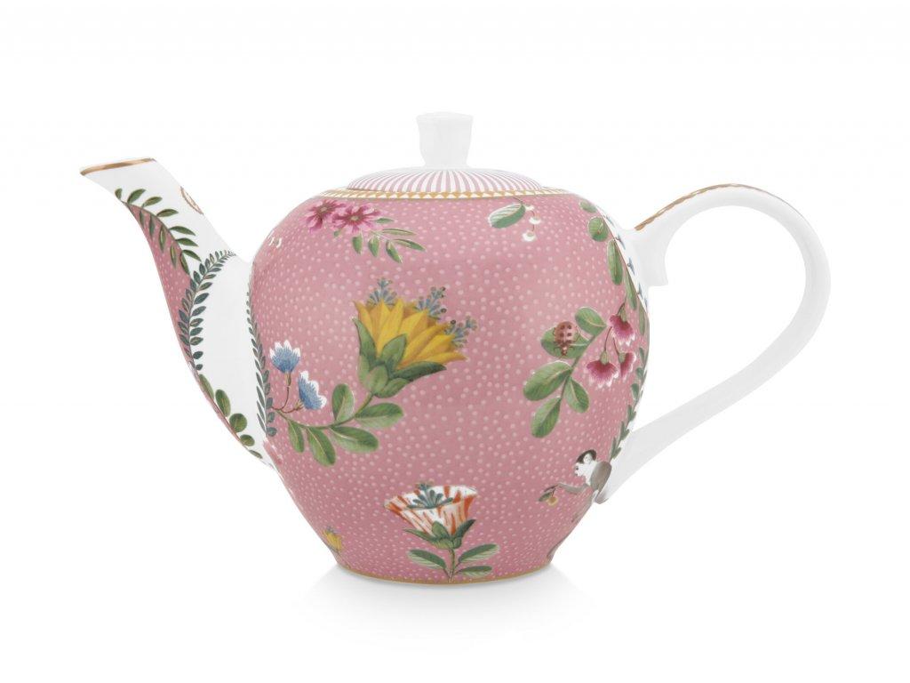 Čajník ružový Pip Studio