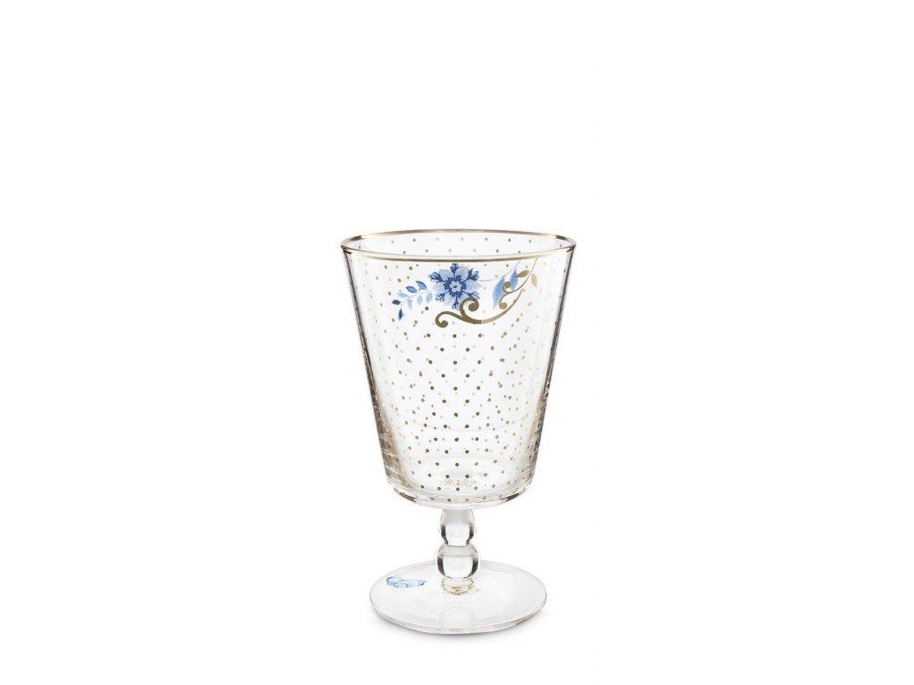 pohár na vodu alebo víno royal pip studio