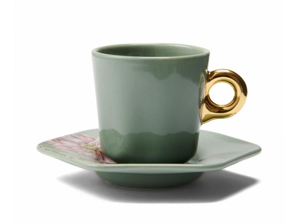 šálka espresso 90 ml gallery zelená farba