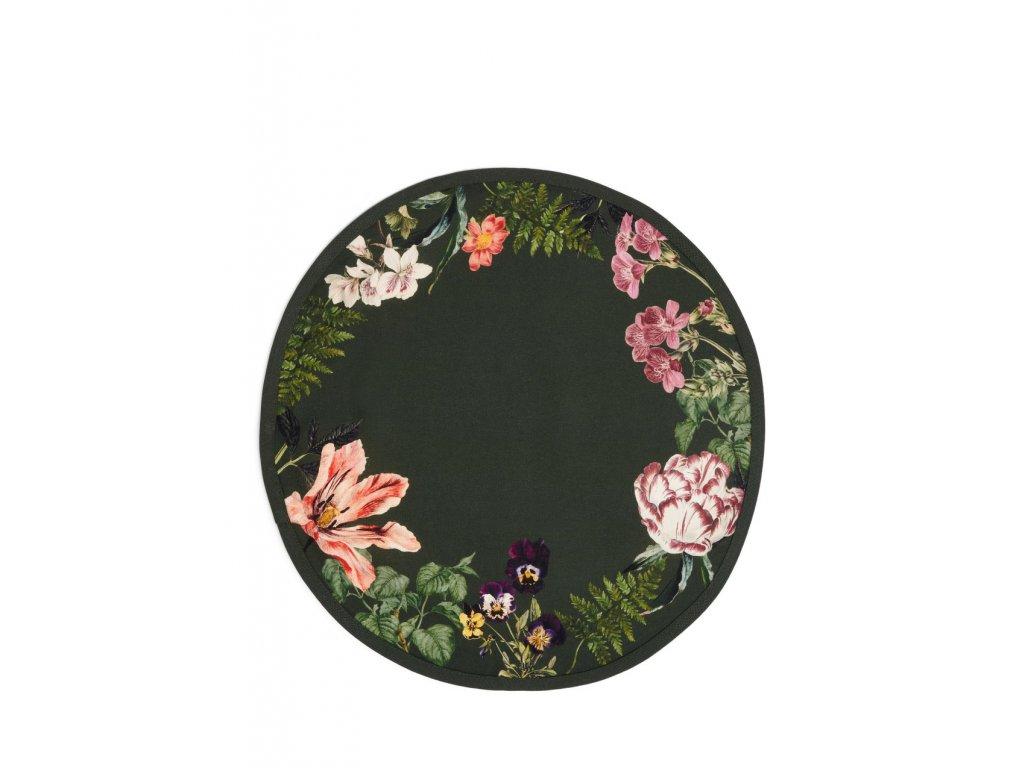 Prestieranie kvety okrúhle Gallery tmavozelený