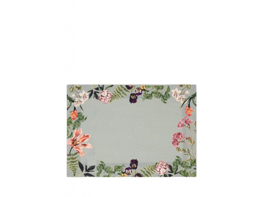 Prestieranie Gallery 35x50 kvety mentolová
