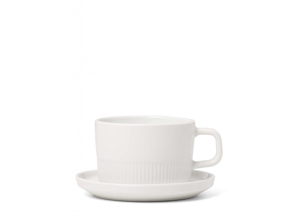 šálka na kávu biela 200 ml