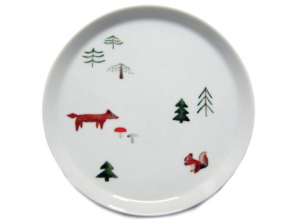 Forest Animals porcelain stickers nuukk XS 800x