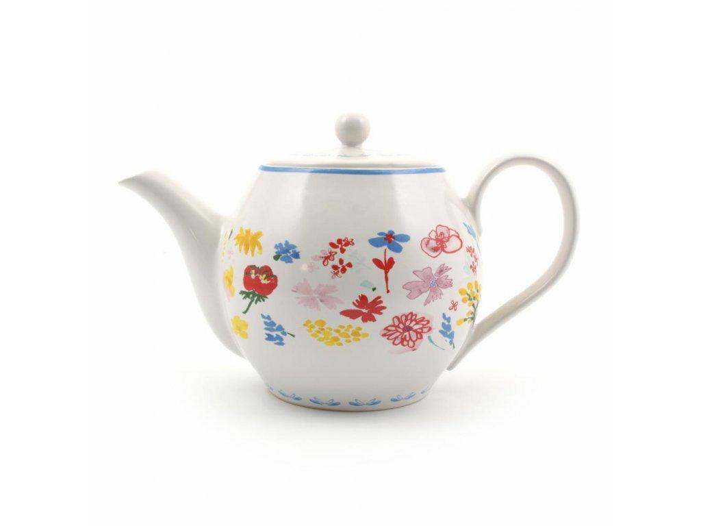 Čajník Gwen kvety