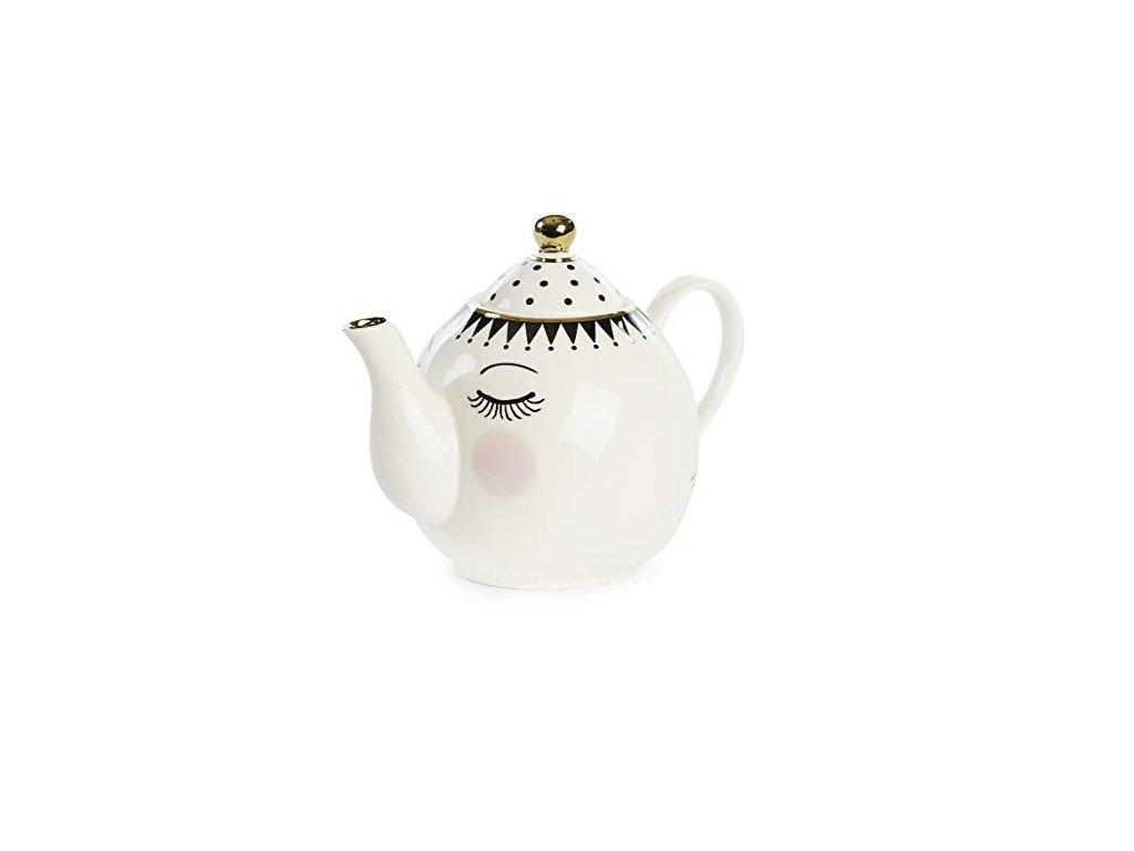 čajník oči