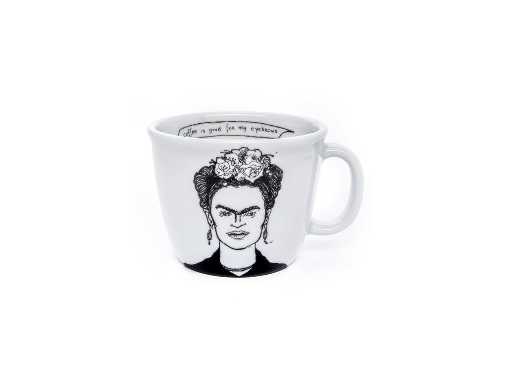 Hrnček na kávu Frida Kahlo