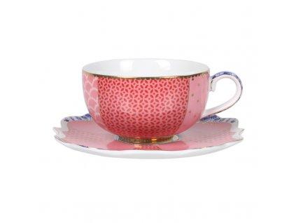 espresso šálka ružová pip studio