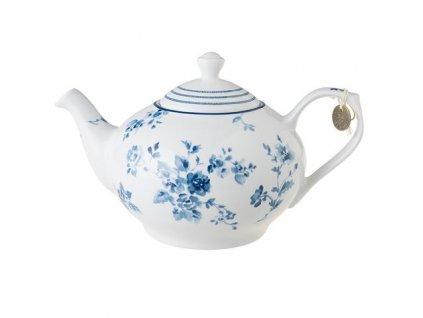 Bielo modrý čajník