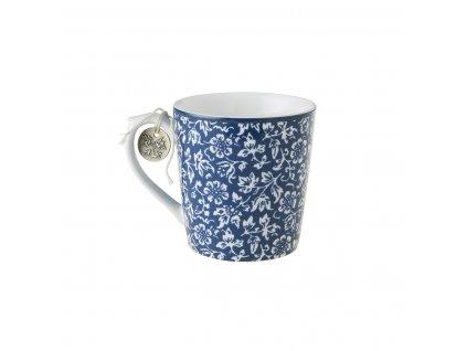 Hrnček na čaj modrý
