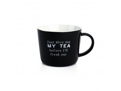 Hrnček my tea čierny