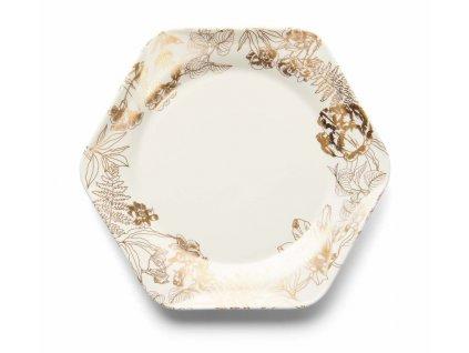 Dezertný tanier 17 cm Masterpiece zlaté detaily