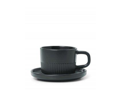 šálka na espresso čierna 100 ml