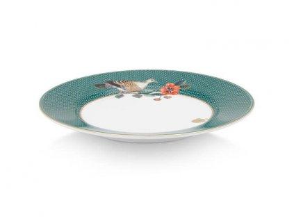 dezertný tanier 17 cm pip studio zelený