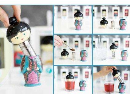 teafan lilly mint