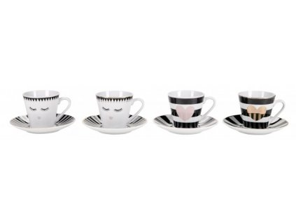 Hrnčeky a šálky na espresso Miss Etoile