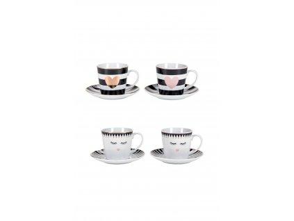 Miss Etóile set šálok na kávu