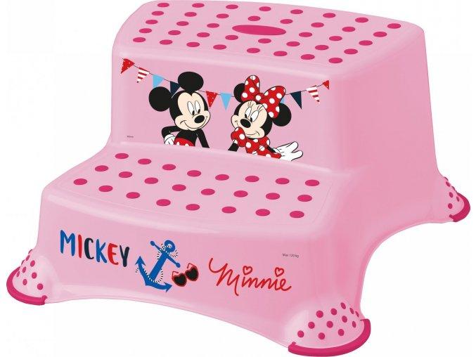 "KEEEPER Dvojstupínek k WC/umyvadlu ""Mickey&Minnie"""