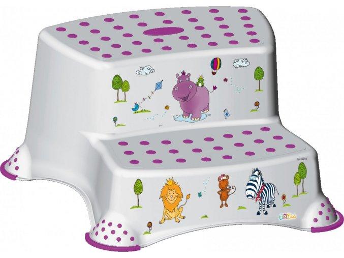 """KEEEPER Dvojstupínek k WC/umyvadlu """"Hippo"""""""