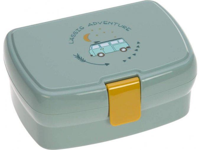 Lässig 4babies Lunchbox About Friends blue