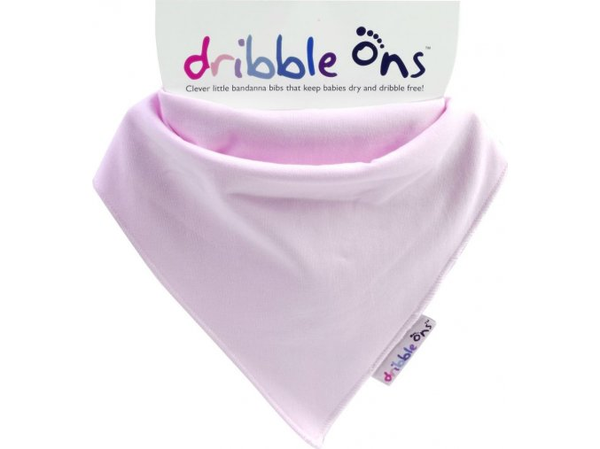 Dribble Ons Classic Baby Pink