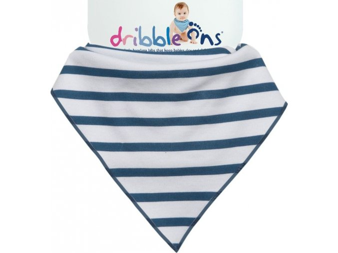 Dribble Ons Designer Nautical Stripes
