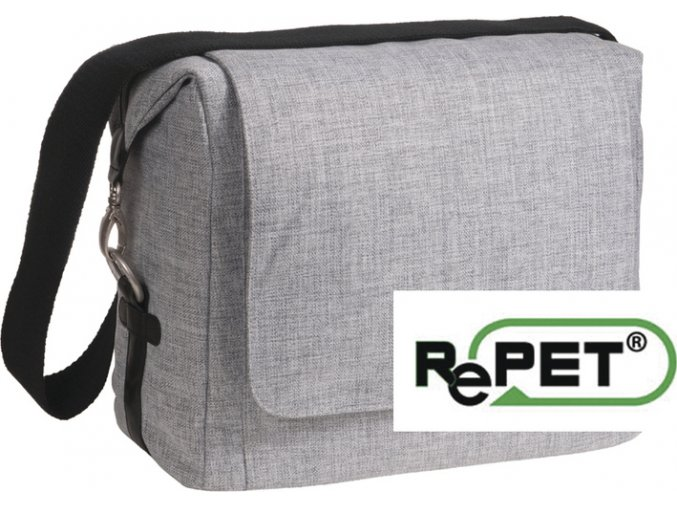 Lässig 4family Green Label Small Messenger Bag Update black mélange