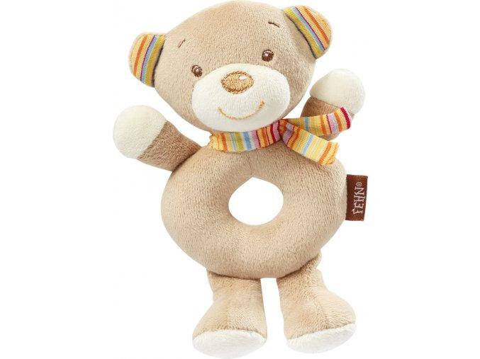 BABY FEHN Měkký kroužek medvídek