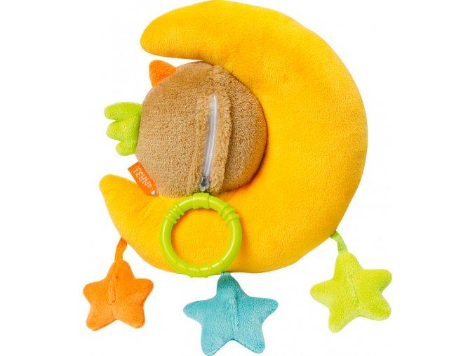 BABY FEHN Hrací hračka sova+měsíček