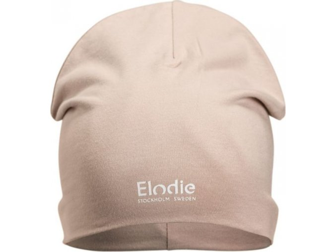 Logo Beanies Elodie Details - Powder Pink (Velikost 24-36 měsíců)