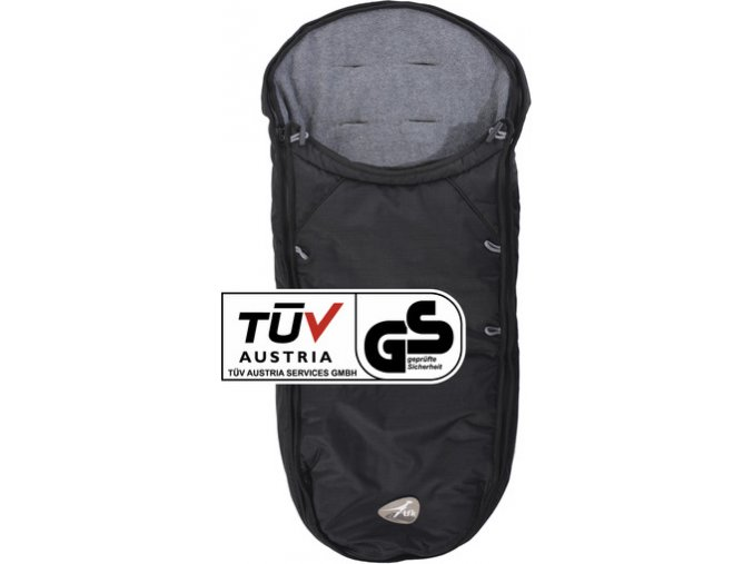 TFK Footmuff universal black for Dot buggy T-068-310