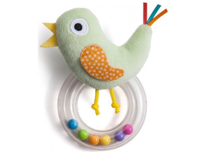 Taf Toys Chrastítko ptáček