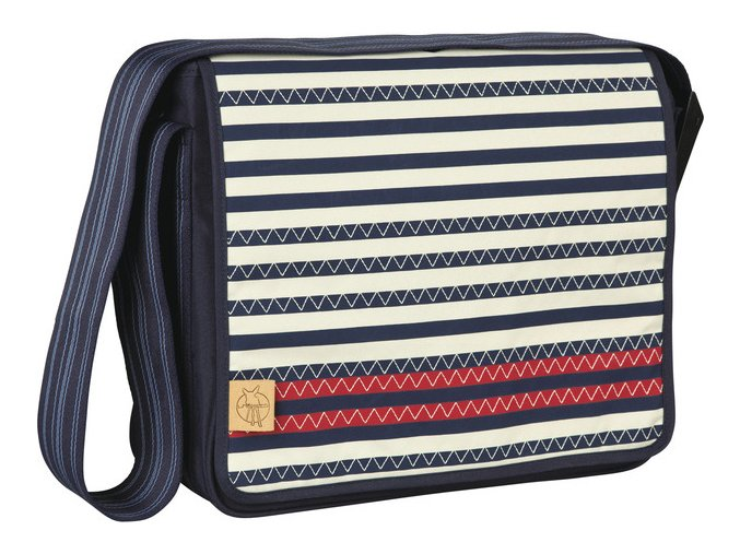 Lässig 4family Casual Messenger Bag 2017 Striped zigzag navy