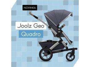JOOLZ Joolz GEO Quadro|podvozek|shadyGrey|XLkoš